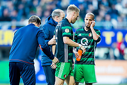 Nicolai Jorgensen of Feyenoord during the Dutch Eredivisie match between Heracles Almelo and Feyenoord Rotterdam at Polman stadium on September 09, 2017 in Almelo, The Netherlands