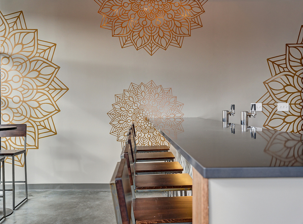 The Kanak Indian Kitchen designed by the architects of Alloy Workshop. Photo/Andrew Shurtleff Photography, LLC