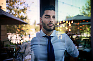 Ammar Campa-Najjar, who is running for congress against Duncan Hunter, in San Diego, CA on Wednesday, August 22, 2018.(Photo by Sandy Huffaker for THe New York Times)
