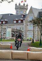 29-09-2013 Santander<br /> IV Gran Carrera Motos Clasicas en el Palacio de la Magdalena<br />  Juan Carlos Hoyos Nuñez, con la moto Bultaco 250<br /> Fotos: Juan Manuel Serrano Arce