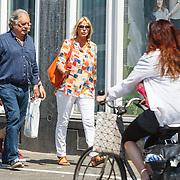 NLD/Amsterdam/20150612 - Schrijver Jan Cremer en partner Babette in Amsterdam