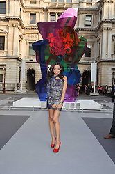 DIONNE BROMFIELD at the Royal Academy of Arts Summer Exhibition Preview Party at Burlington House, Piccadilly, London on 2nd June 2011.