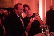DAVID DAWSON; TRACEY EMIN, Dinner and a performance and film screening from Carnet de and Mike Figgis (who has created a film especially for the event)  to celebrate David Tang and to mark the start of construction of the RA's £50 million redevelopment project.  Royal Academy. Piccadilly. London. 26 October 2015.