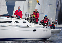 Largs Regatta Week 2017 <br /> Day 1  GBR7737T, Solus, Ronnie Forrest<br /> <br /> Picture Marc Turner