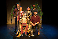 Coranderrk, a theatre production by Ilbijerri Theatre, performed at Northcote Townhall, Melbourne, 15th August 2014