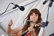 Laurie McClain concert at 2013 Tucson Folk Festival.