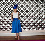 Katie Geoghegan Catwalk model in the g hotel for the launch of The Galway Races 2016 Summer Festival which runs from the 25th of July to the 31st of July in Galway City. Photo: Andrew Downes :