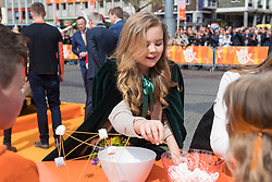 Dutch Royal Family, King Willem-Alexander and Queen Maxima with their daughters Princess Amalia, Princess Alexia and Princess Ariane, Prince Constantijn and Princess Laurentien, Prince Maurits and Princess Marilene, Prince Pieter-Christiaan and Princess Anita, Prince Bernhard and Princess Annette, Prince Floris and Princess Aimee celebrating King Willem-Alexander's 51st birthday and 5 year on the Throne during Kingsday (Koningsdag) 2018 in Groningen, The Netherlands. 27 Apr 2018 Pictured: Dutch Royal Family, King Willem-Alexander and Queen Maxima with their daughters Princess Amalia, Princess Alexia and Princess Ariane, Prince Constantijn and Princess Laurentien, Prince Maurits and Princess Marilene, Prince Pieter-Christiaan and Princess Anita, Prince Bernhard and Princess Annette, Prince Floris and Princess Aimee celebrating King Willem-Alexander's 51st birthday and 5 year on the Throne during Kingsday (Koningsdag) 2018 in Groningen, The Netherlands. Photo credit: MEGA TheMegaAgency.com +1 888 505 6342