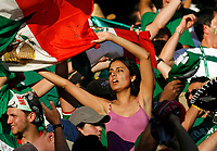 Photo: Glyn Thomas.<br />Mexico v Iran. Group D, FIFA World Cup 2006. 11/06/2006.<br /> Mexico fans celebrate a 3-1 victory over Iran.