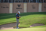 Graeme McDowell (NIR) looks over his putt on 16 during day 1 of the Valero Texas Open, at the TPC San Antonio Oaks Course, San Antonio, Texas, USA. 4/4/2019.<br /> Picture: Golffile | Ken Murray<br /> <br /> <br /> All photo usage must carry mandatory copyright credit (© Golffile | Ken Murray)