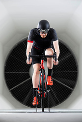 EDITORIAL USE ONLY<br /> George Boardman, son of the Olympic athlete Chris Boardman, attends the official opening of The Boardman Performance Centre in Evesham, Worcestershire, which opens to the public on Monday.