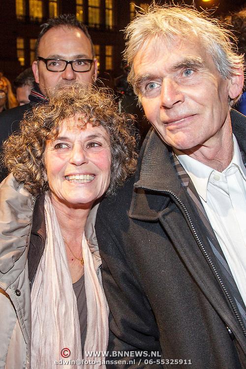 NLD/Amsterdam/20150306 - Boekenbal 2015, Yvonne Kroonenberg en ............