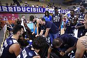 Time out Germani Brescia, Germani Basket Brescia vs Virtus Segafredo Bologna, 2 edizione Trofeo Roberto Ferrari, Finale 3-4 posto, PalaGeorge di Montichiari 23 settembre 2017