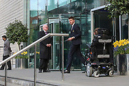 Michael Carrick Midfielder of Manchester United departs the Lowry hotel before the Manchester United vs Celta Vigo match  at Old Trafford, Manchester, United Kingdom on 11 May 2017. Photo by Phil Duncan.