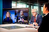 Koningin Maxima online bij Staat van het MKB 2020