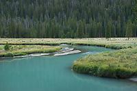 Green River Bridger Wilderness, Wind River Range Wyoming