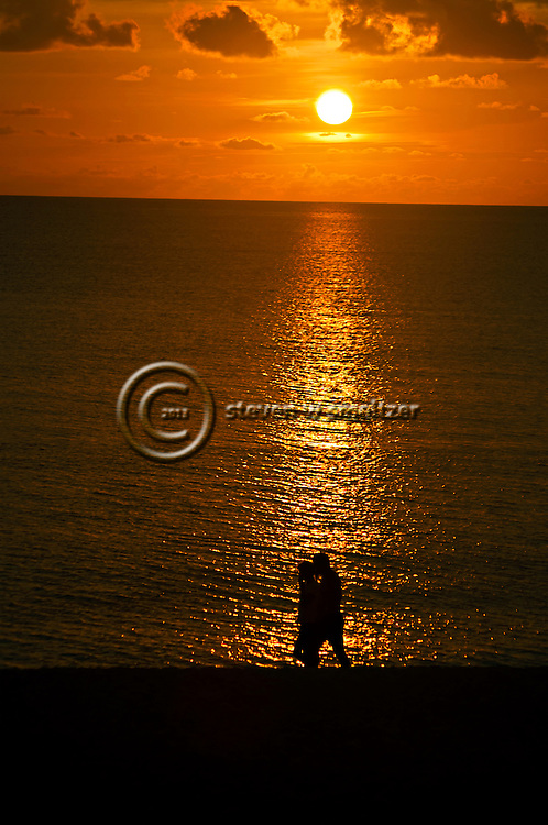 Romantic Stroll at Sunset On Seven Mile Beach Grand Cayman