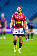 Paul Abadie (#9 of SU Agen Rugby during the European Rugby Challenge Cup match between Edinburgh Rugby and SU Agen at BT Murrayfield, Edinburgh, Scotland on 18 January 2020.
