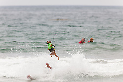 July 29, 2017 - Imperial Beach, CA, US - Surfdog returns to Imperial Beach for the twelfth  year...Marcello and Rusty do some special aerials (Credit Image: © Daren Fentiman via ZUMA Wire)