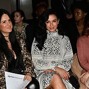 Shanie Ryan (R) attend Indonesian Fashion Showcase - Jera at Fashion Scout London Fashion Week AW19 on 16 Feb 2019, at Freemasons' Hall, London, UK.