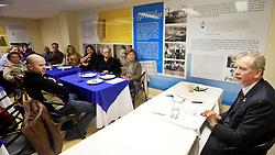 José Fortunati durante reunião/almoço na Federação Israelita de Porto Alegre. FOTO: Jefferson Bernardes/Preview.com