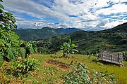 Phongsaly Province, Laos lush green landscape