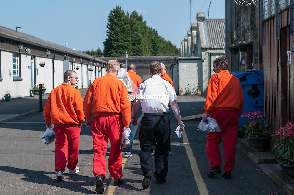 Movement of prisoners, HMP Barlinnie, Glasgow