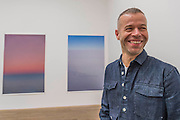 Tillmans with, Tag/Nicht II and peninsula - Wolfgang Tillmans: 2017. Tate Modern's new exhibition. Highlights include: large scale photographic works printed especially for this exhibition, including the four-meter tall Weed 2014 and dramatic seascapes such as The State We're In, A 2015;   New 'text and table' sculptures including Time Mirrored 3 2017, on display to the public for the first time; and slide projection Book for Architects 2014. The show is at Tate Modern from 15 February to 11 June 2017.