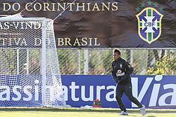 O jogador da Seleção Brasileira de Futebol, Neymar durante treino no C T do Corinthians, em São Paulo. FOTO: Jefferson Bernardes/Preview.com