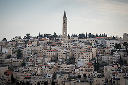 23 February 2020, Jerusalem: Church of the Ascension on the Mount of Olives.