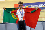 Men Individual Pursuit, Ivo Oliveira (Portugal) silver medal, during the Track Cycling European Championships Glasgow 2018, at Sir Chris Hoy Velodrome, in Glasgow, Great Britain, Day 4, on August 5, 2018 - Photo Luca Bettini / BettiniPhoto / ProSportsImages / DPPI - Belgium out, Spain out, Italy out, Netherlands out -