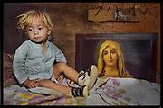 "Child and Madonna,<br /> São Paulo, Brazil<br />  -   ""Where Little Children Suffer"" THE OBSERVER MAGAZINE (UK)"