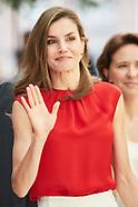 062017 Queen Letizia attends 'Toma la Palabra' in Asturias