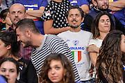 DESCRIZIONE : Eurolega Euroleague 2015/16 Group D Dinamo Banco di Sardegna Sassari - Brose Basket Bamberg<br /> GIOCATORE : Flavio Soriga<br /> CATEGORIA : Tifosi Pubblico Spettatori VIP<br /> SQUADRA : Dinamo Banco di Sardegna Sassari<br /> EVENTO : Eurolega Euroleague 2015/2016<br /> GARA : Dinamo Banco di Sardegna Sassari - Brose Basket Bamberg<br /> DATA : 13/11/2015<br /> SPORT : Pallacanestro <br /> AUTORE : Agenzia Ciamillo-Castoria/L.Canu
