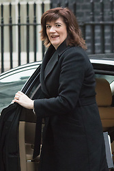 Downing Street, London, February 9th 2016.  Education Secretary Nicky Morgan arrives in Downing Street for the weekly cabinet meeting. ///FOR LICENCING CONTACT: paul@pauldaveycreative.co.uk TEL:+44 (0) 7966 016 296 or +44 (0) 20 8969 6875. ©2015 Paul R Davey. All rights reserved.