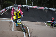 #996 (KRIGERS Kristens) LAT at the 2016 UCI BMX Supercross World Cup in Santiago del Estero, Argentina