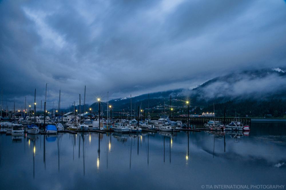 Aurora Harbor Marina, Early Evening