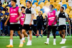 May 25, 2018 - Kyiv, UKRAINE - 180525 Jürgen Klopp, head coach of Liverpool, during a training session on May 25, 2018 in Kyiv..Photo: Vegard Wivestad Grøtt / BILDBYRÃ…N / kod VG / 170176 (Credit Image: © Vegard Wivestad GrØTt/Bildbyran via ZUMA Press)