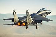 Israeli Air force (IAF) Fighter jet F-15 (BAZ)at takeoff