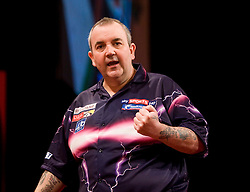 Phil Taylor..2010 Whyte & MacKay Premier League Darts week nine, Glasgow SECC..©2010 Michael Schofield. All Rights Reserved.
