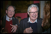 Craig Brown and Alexander Chancellor. The Literary Review's Bad Sex Awards. annual ceremony for authors who write about sex in a 'redundant, perfunctory, unconvincing and embarrassing way. In and Out Club. London.  1 December  2005. ONE TIME USE ONLY - DO NOT ARCHIVE  © Copyright Photograph by Dafydd Jones 66 Stockwell Park Rd. London SW9 0DA Tel 020 7733 0108 www.dafjones.com
