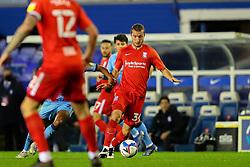 Birmingham City's Ivan Sunjic drives forward - Mandatory by-line: Nick Browning/JMP - 20/11/2020 - FOOTBALL - St Andrews - Birmingham, England - Coventry City v Birmingham City - Sky Bet Championship