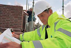 Social housing construction, London Borough of Haringey UK