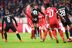 December 5, 2017 - Munich, France - 10 NEYMAR JR (psg) - 11 James Rodríguez (bay) - 19 Sebastian Rudy  (Credit Image: © Panoramic via ZUMA Press)