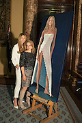 ELLE MACPHERSON; NICOLA GREEN, A unique portrait of Elle Macpherson by Nicola Green is unveiled at the Australian High Commission at a reception hosted by His Excellency Mike Rann. London. 19 November 2013.  - Four Subsequent Life Size prints of Elle titled: The Body will go on show at London gallery: Flowers.