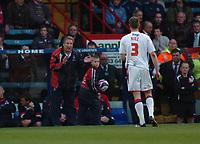 Photo: Tony Oudot/Richard Lane Photography. Crystal Palace v Reading. Coca-Cola Football League Championship. 21/03/2009. <br /> Palace manager Neil Warnock shouts instructions to Clint Hill