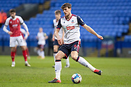 Bolton Wanderers defender Ryan Delaney (6) during the EFL Sky Bet League 2 match between Bolton Wanderers and Cheltenham Town at the University of  Bolton Stadium, Bolton, England on 16 January 2021.