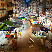 Night market on Fa Yuen Street, Mong Kok