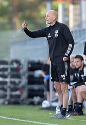 Cheftræner Ståle Solbakken (FC København) under kampen i 3F Superligaen mellem Lyngby Boldklub og FC København den 1. juni 2020 på Lyngby Stadion (Foto: Claus Birch).