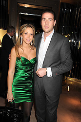 BIANCA IMERMAN and PIERRE LADOW at a party to celebrate the launch of a collection of jewellery by Tamara Ecclestoen for jewellers Moussaieff held at their store in New Bond Street, London on 9th December 2008.
